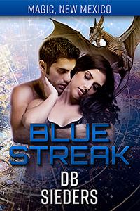 Cover of Blue Streak by DB Sieders