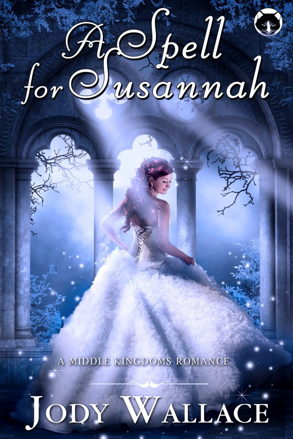 the cover for a spell for susannah by jody wallace, a fantasy romance