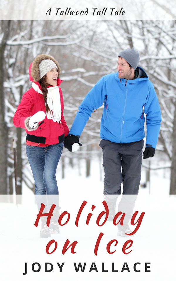 the cover for holiday on ice by jody wallace