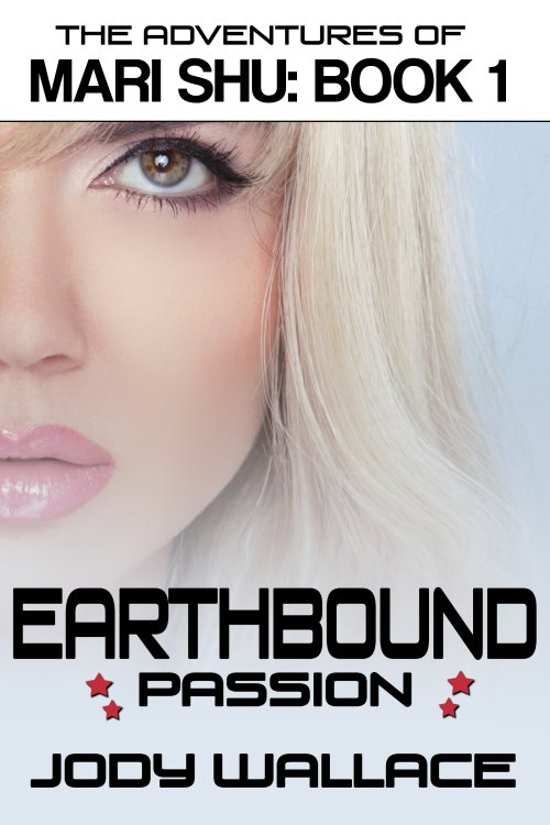 cover for earthbound passion by jody wallace, a science fiction romance parody