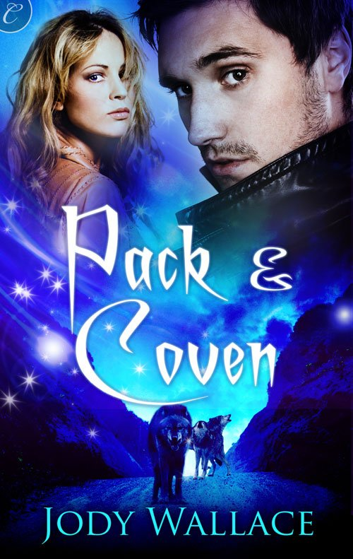 the cover of pack and coven by jody wallace