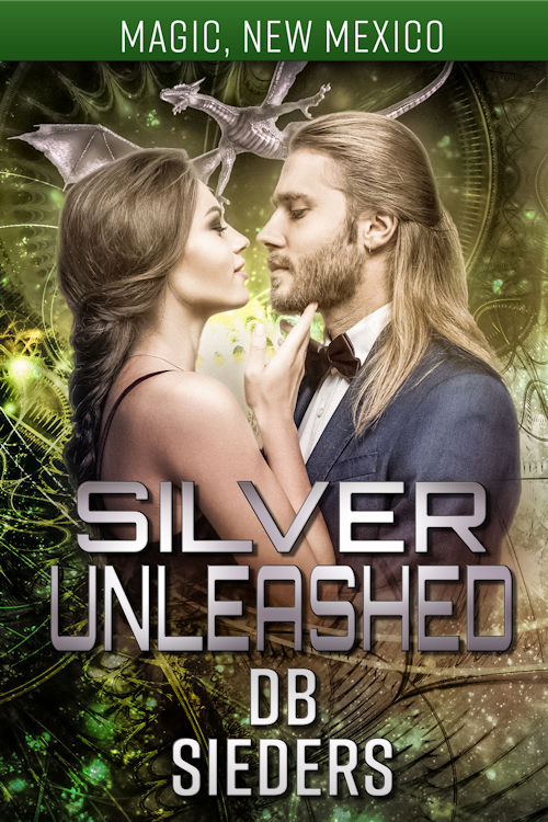 the cover for silver unleashed by db sieders