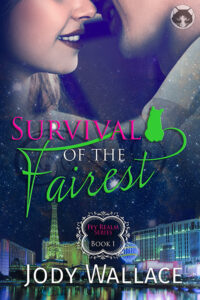 survival of the fairest book cover is a paranormal romance by jody wallace
