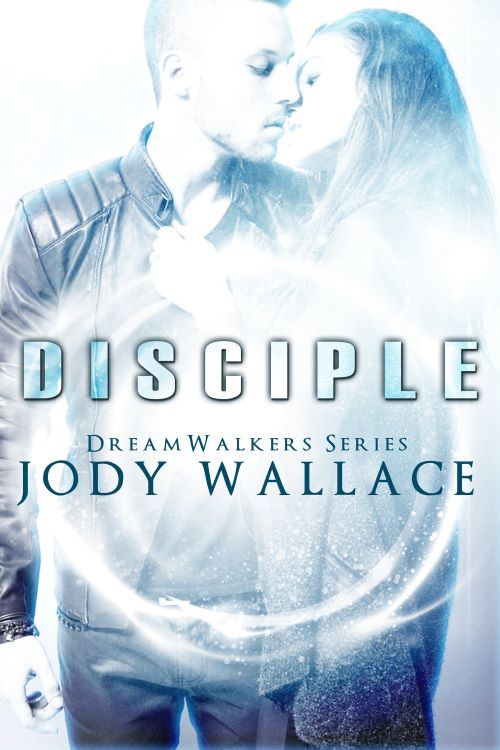 the cover for disciple by jody wallace, urban fantasy romance