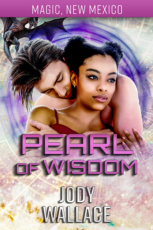 the cover for pearl of wisdom by jody wallace