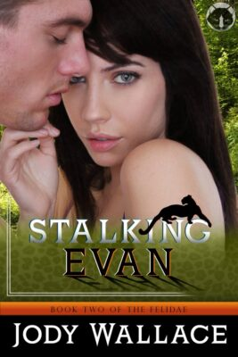 the cover for stalking evan by jody wallace