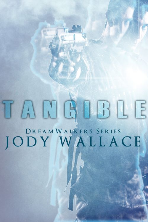 the cover for tangible by jody wallace, urban fantasy romance