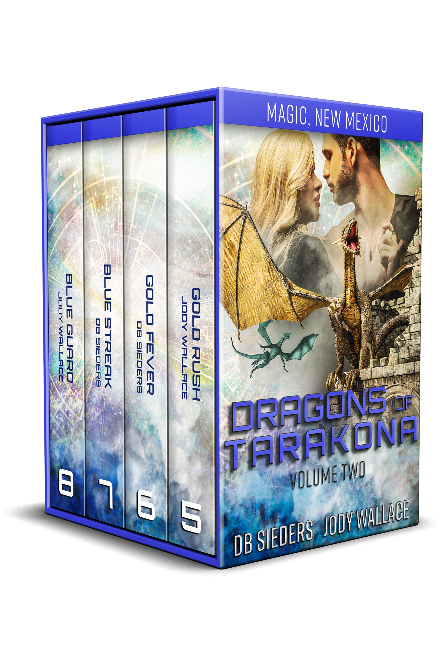 a box set of covers for dragons of tarakona books 5-8