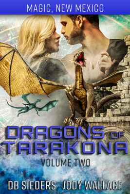 the book cover for the box set of dragons of tarakona part 2