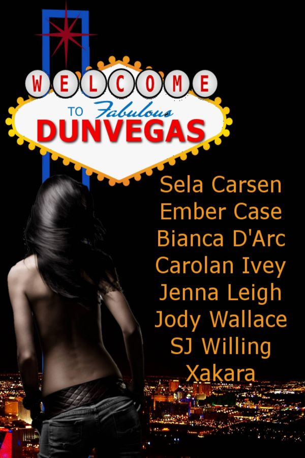 the cover for welcome to dunvegas by assorted authors